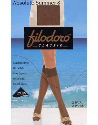 Гольфы Filodoro Classic ABSOLUTE SUMMER 8 (гольфы 2 п.)